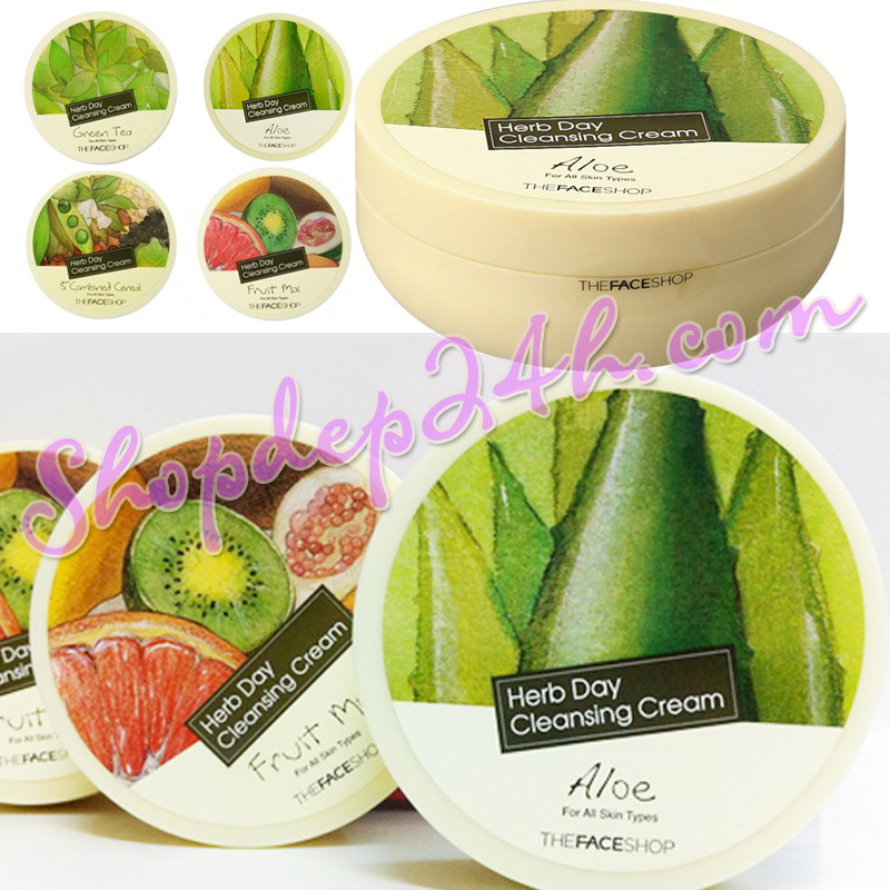 [Thefaceshop] Kem tẩy trang Herb Day Cleansing Cream