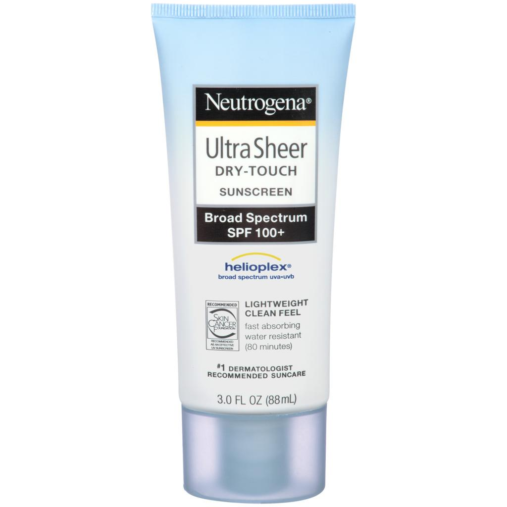 [NEUTROGENA] Kem chống nắng Ultra Sheer Dry-Touch Sunscreen Broad Spectrum UVA/UVB SPF 100+