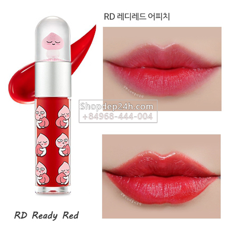 [The Face Shop] Son Hood Ryan & Sweet Apeach Edition Blossom Tint 5.5g